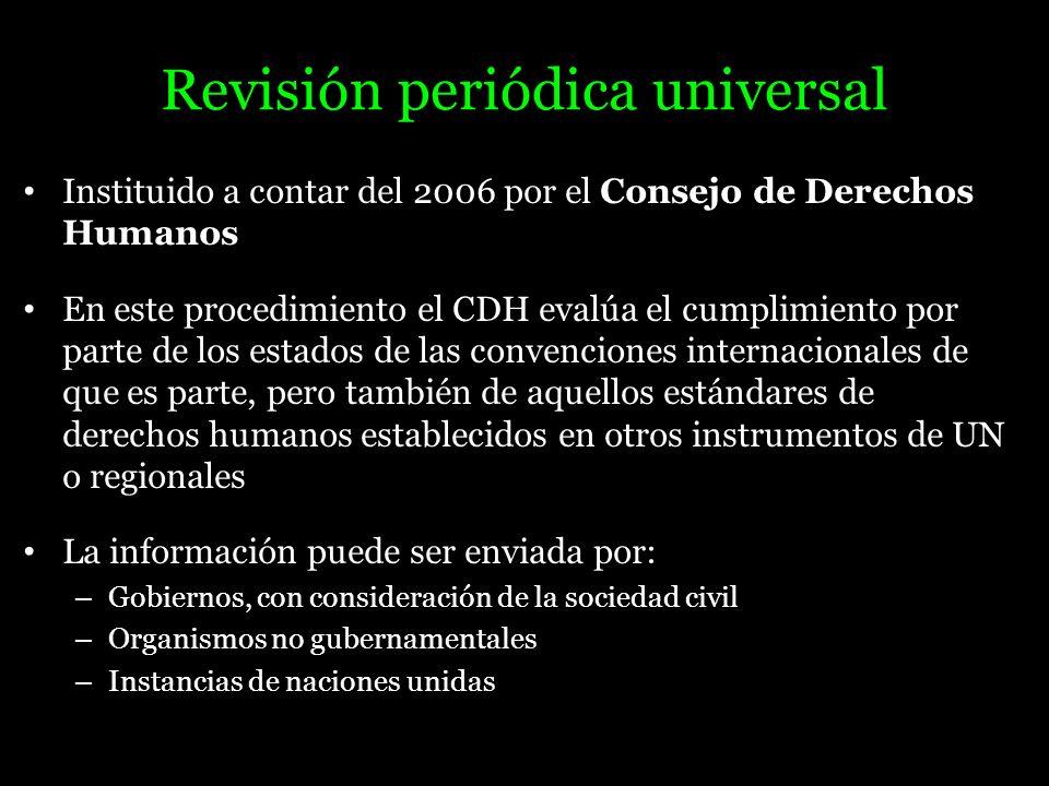 Revisión periódica universal