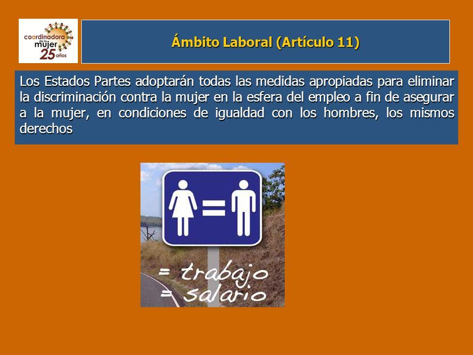 Ámbito Laboral (Artículo 11)