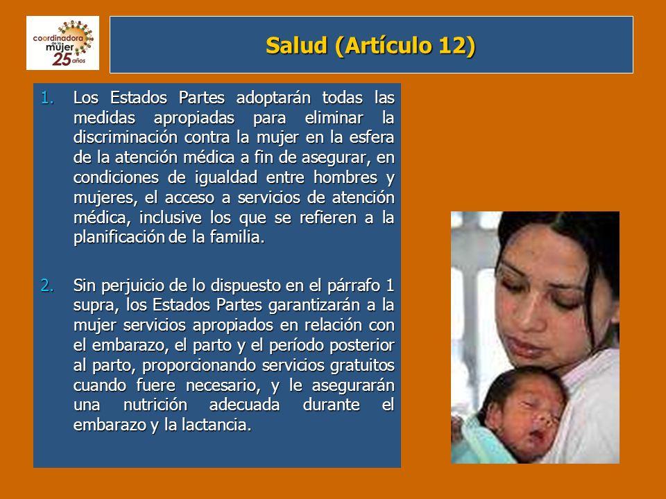 Salud (Artículo 12)