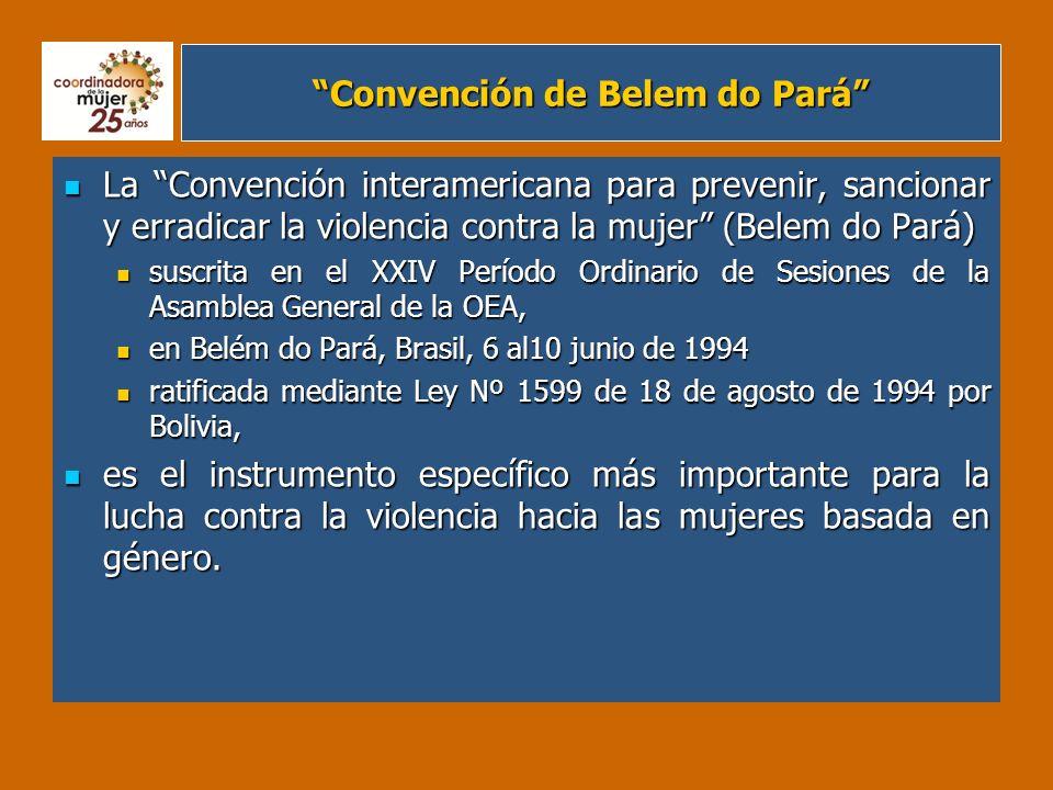 Convención de Belem do Pará