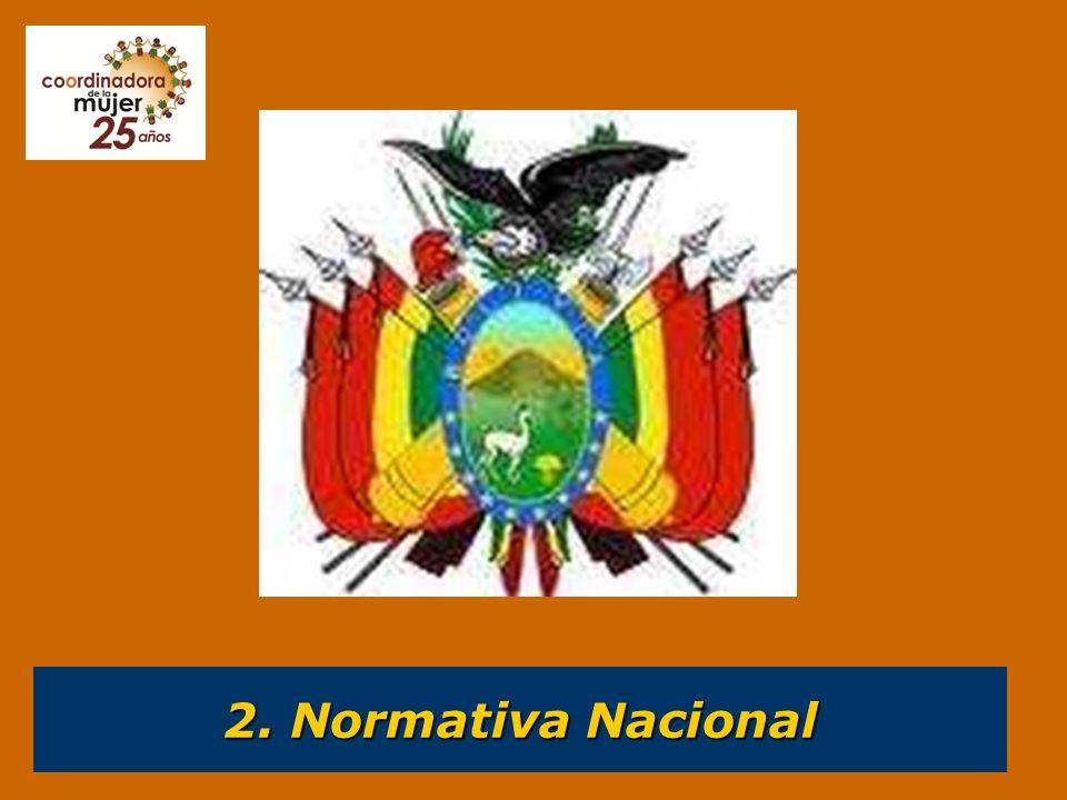 2. Normativa Nacional