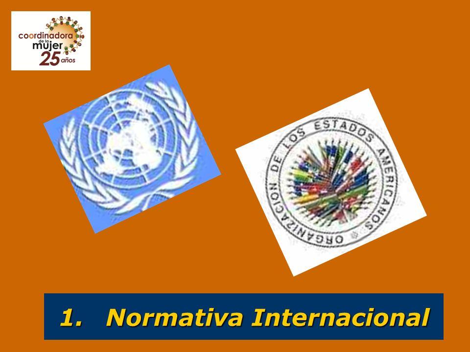 1. Normativa Internacional