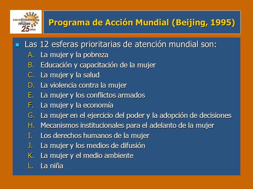 Programa de Acción Mundial (Beijing, 1995)