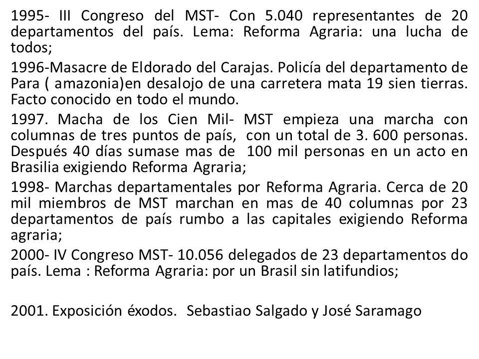 1995- III Congreso del MST- Con 5
