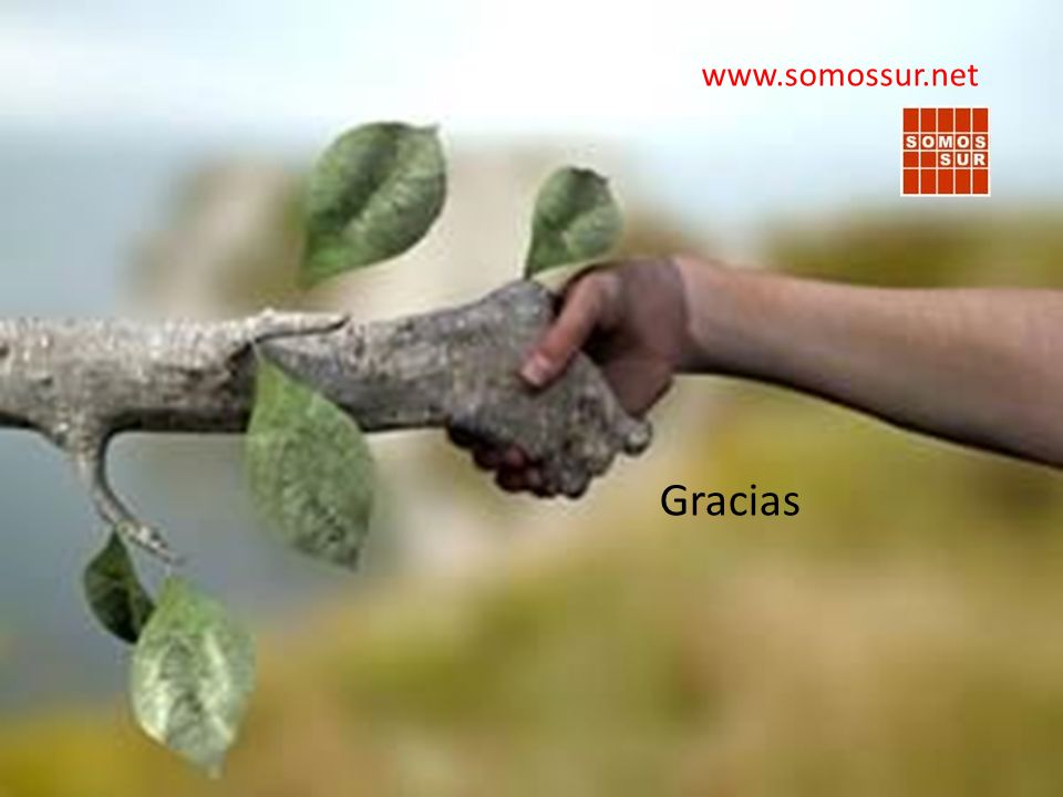 www.somossur.net Gracias