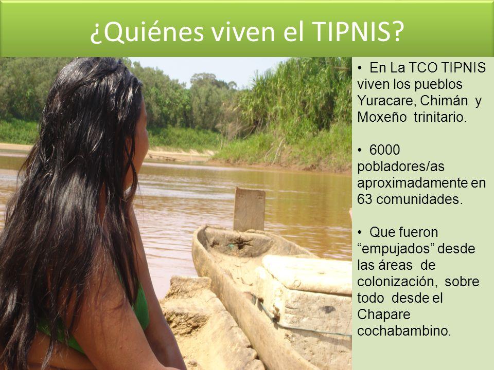 ¿Quiénes viven el TIPNIS