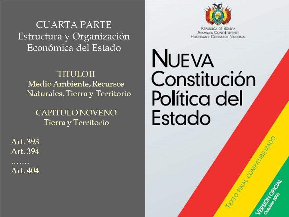 Estructura y Organización Económica del Estado