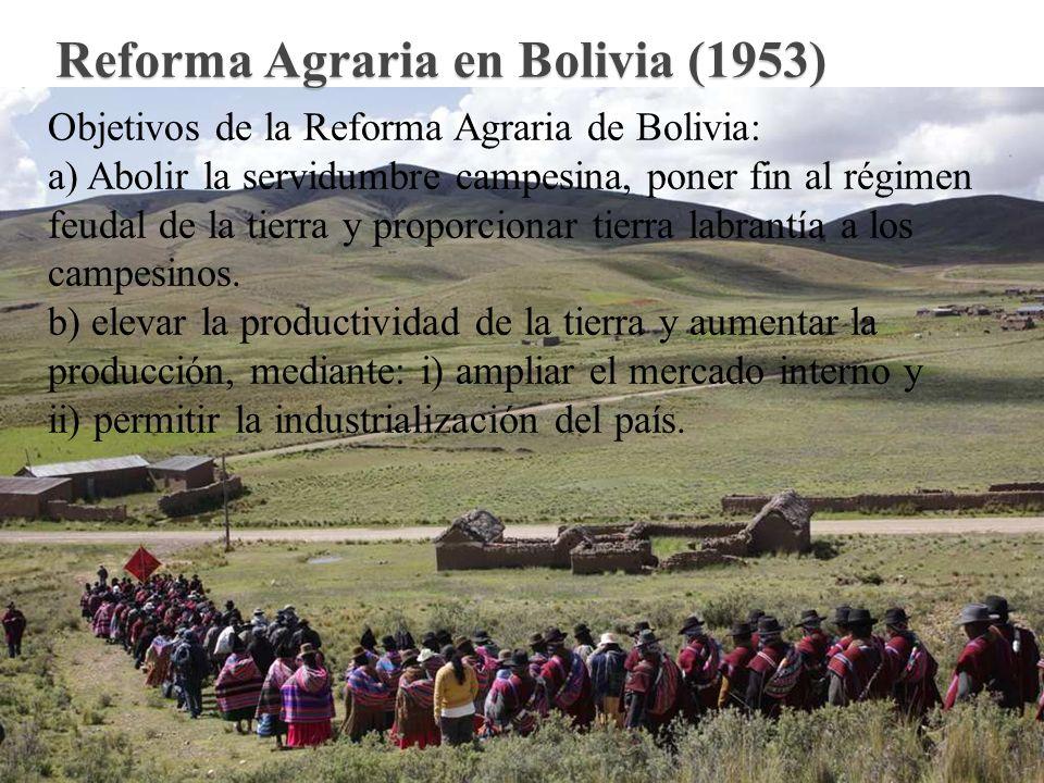 Reforma Agraria en Bolivia (1953)