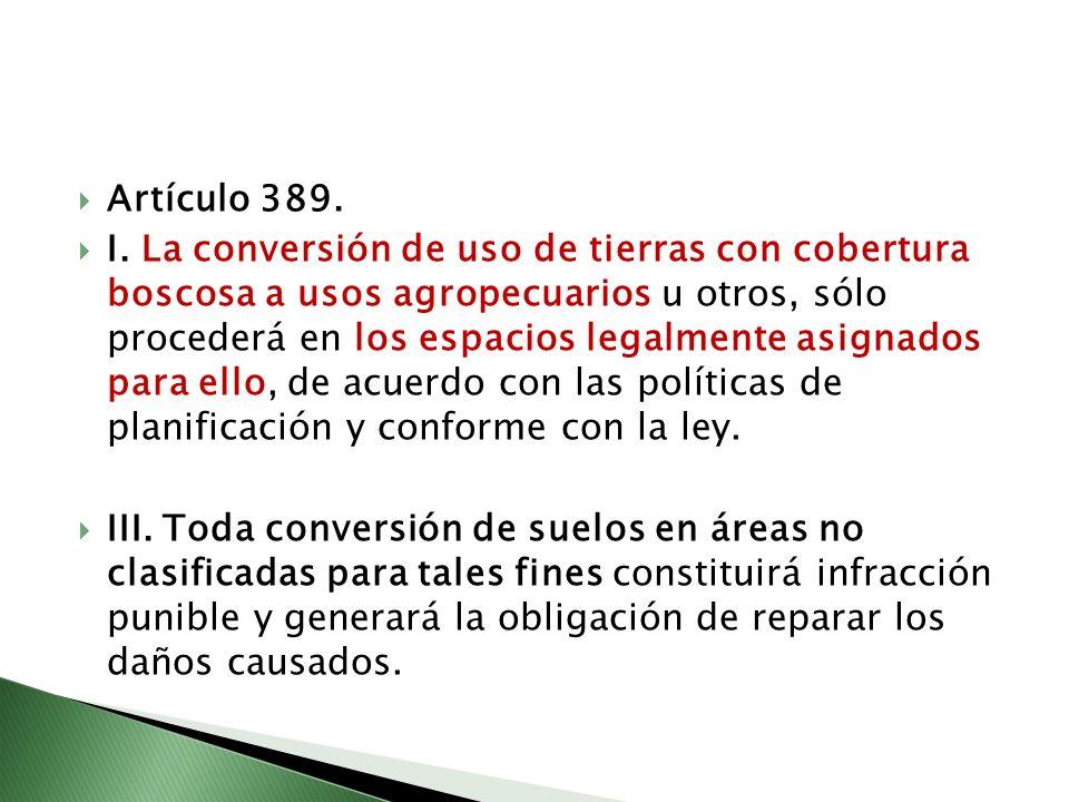 Artículo 389.