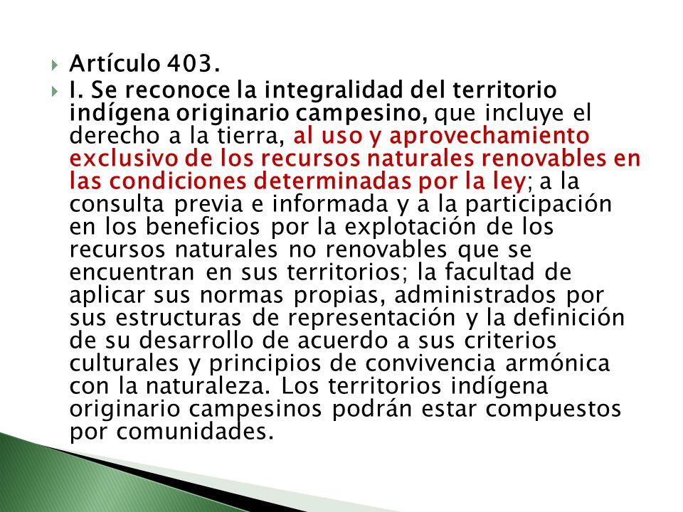 Artículo 403.