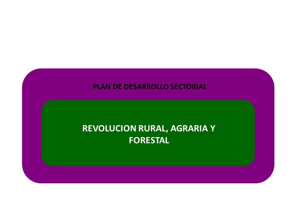 PLAN DE DESARROLLO SECTORIAL REVOLUCION RURAL, AGRARIA Y FORESTAL