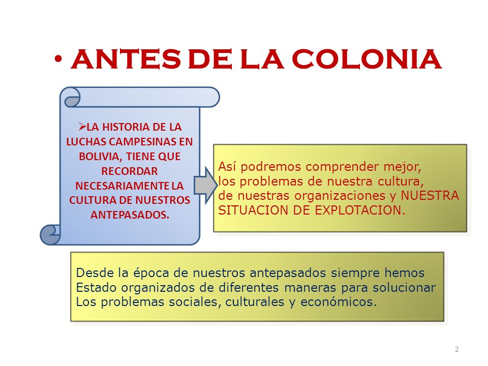 ANTES DE LA COLONIA LA HISTORIA DE LA LUCHAS CAMPESINAS EN BOLIVIA, TIENE QUE RECORDAR NECESARIAMENTE LA CULTURA DE NUESTROS ANTEPASADOS.