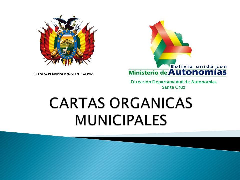 Dirección Departamental de Autonomías