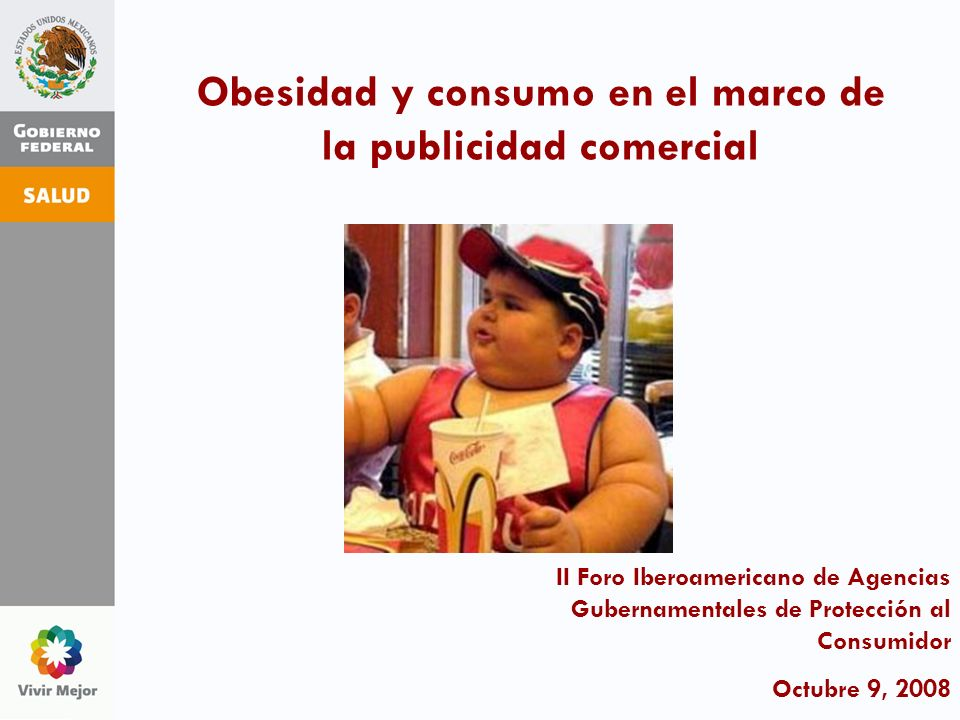 Obesidad y consumo en el marco de la publicidad comercial