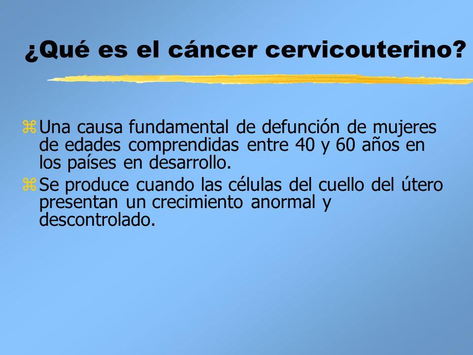 ¿Qué es el cáncer cervicouterino
