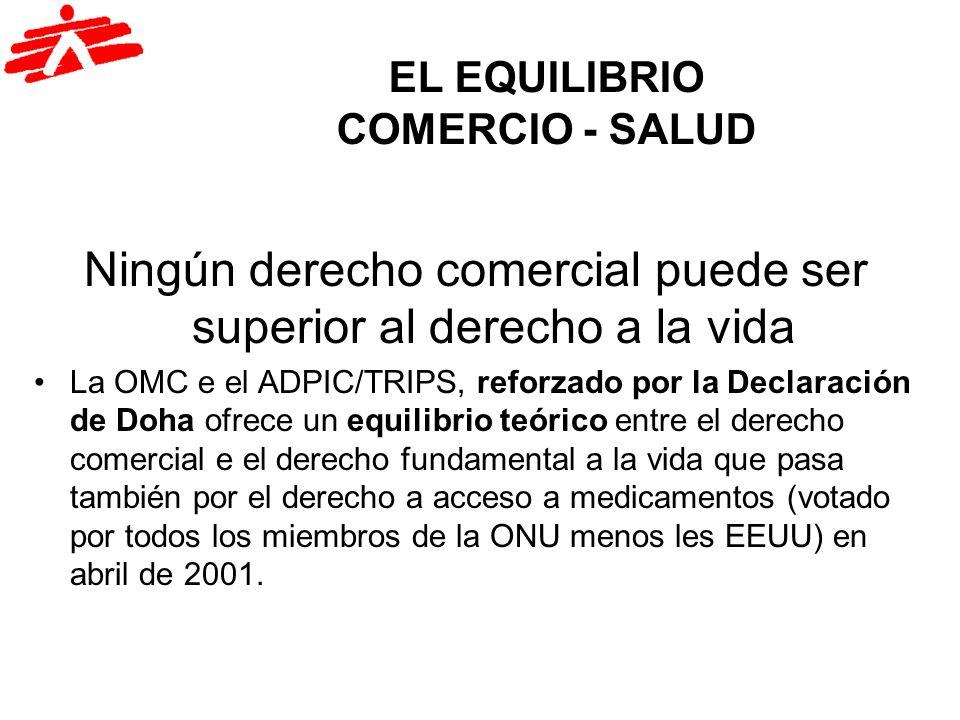 EL EQUILIBRIO COMERCIO - SALUD