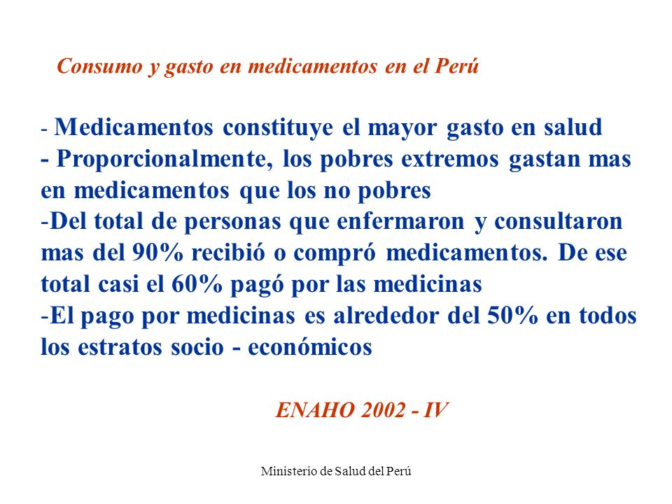 Ministerio de Salud del Perú