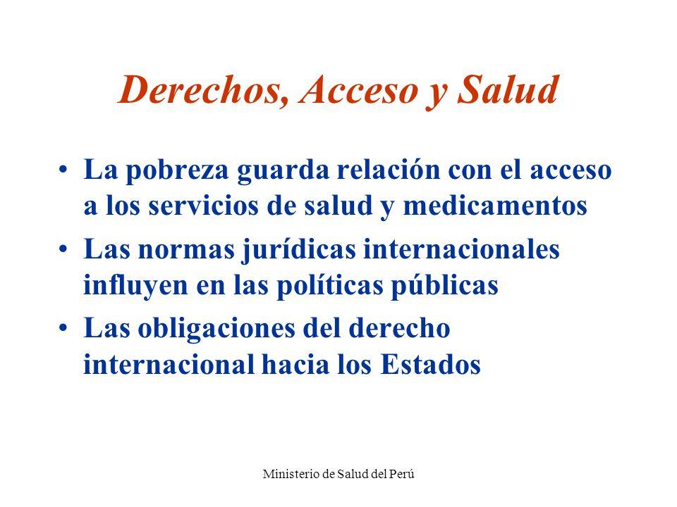 Derechos, Acceso y Salud