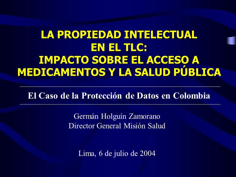 El Caso de la Protección de Datos en Colombia