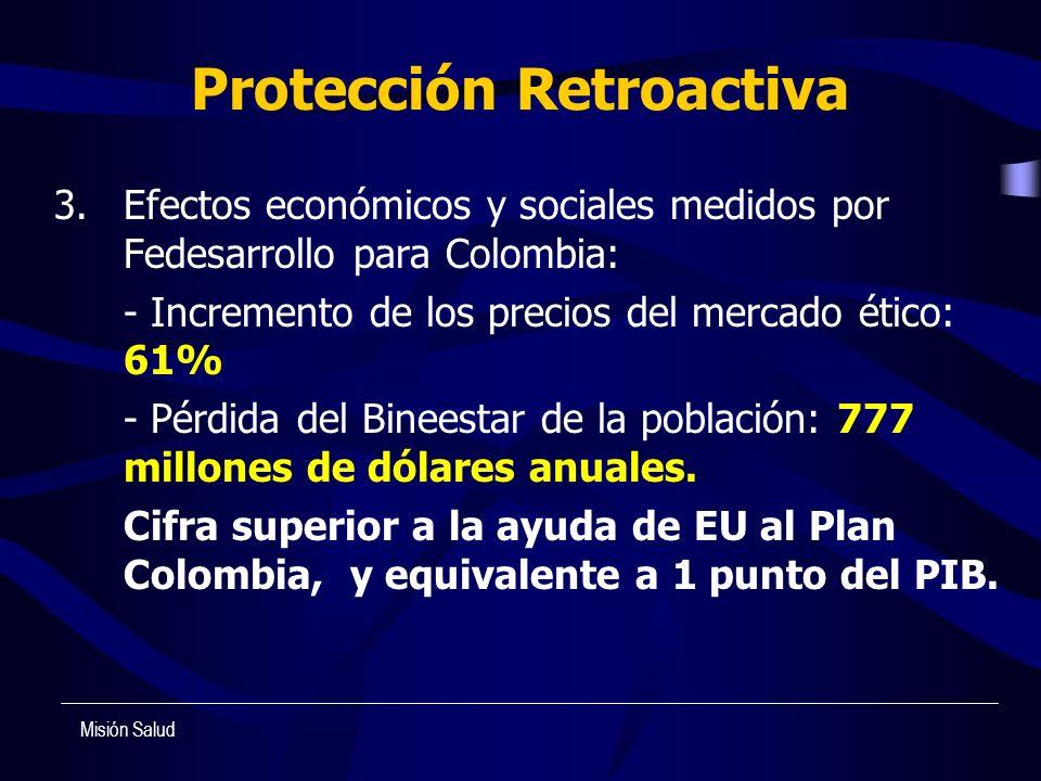 Protección Retroactiva