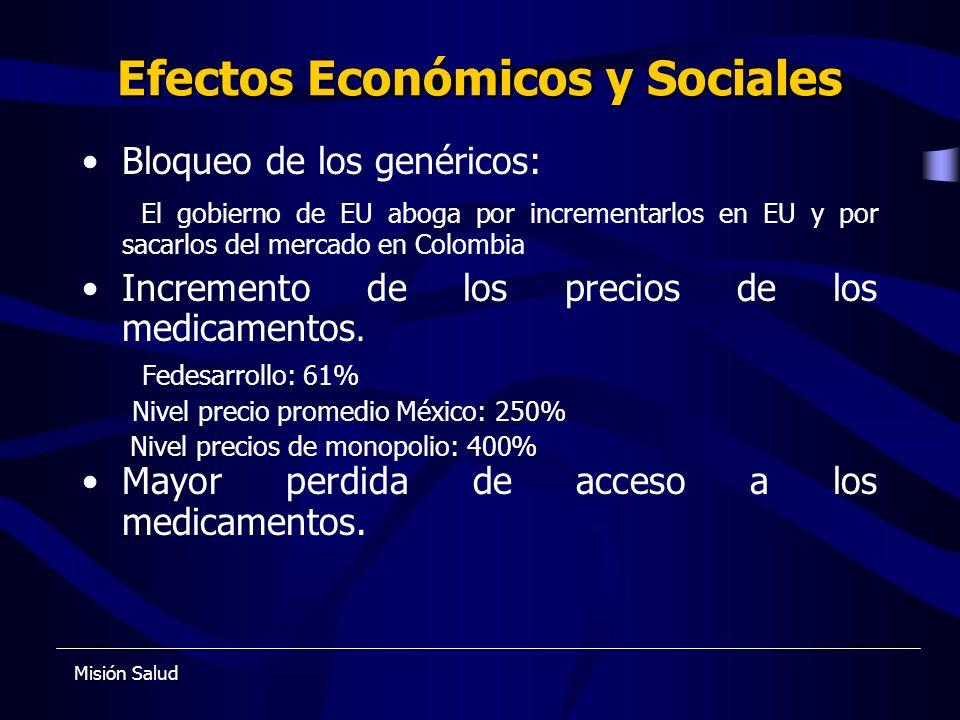 Efectos Económicos y Sociales