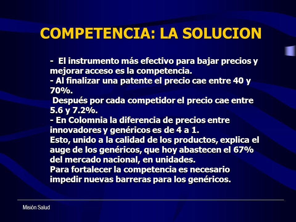 COMPETENCIA: LA SOLUCION