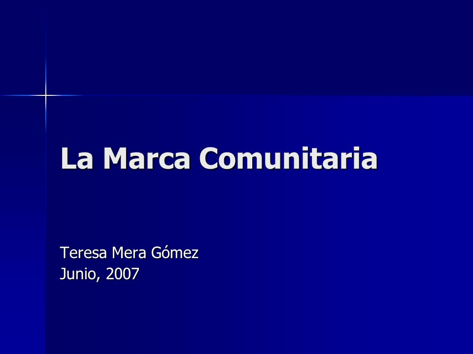 Teresa Mera Gómez Junio, 2007
