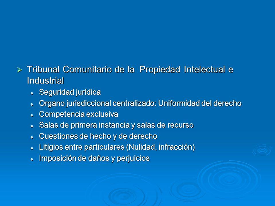 Tribunal Comunitario de la Propiedad Intelectual e Industrial