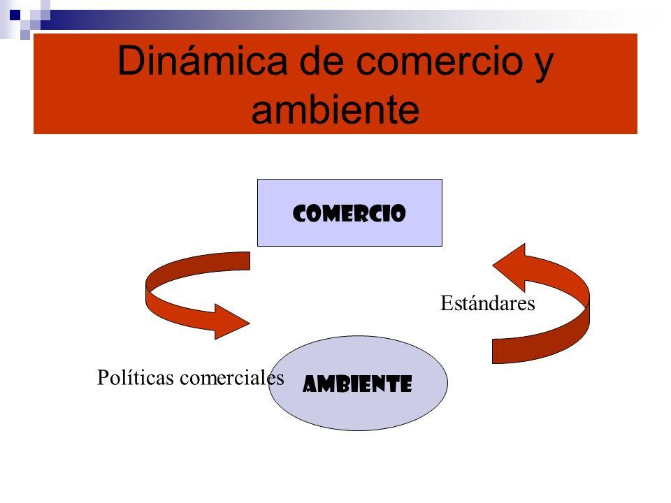 Dinámica de comercio y ambiente