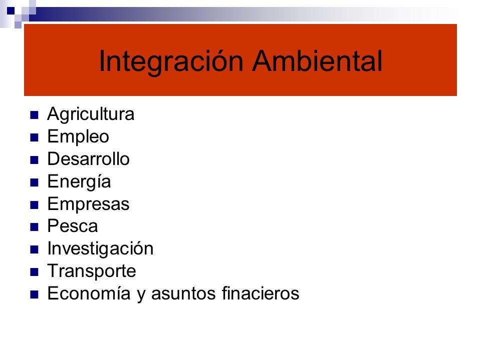 Integración Ambiental