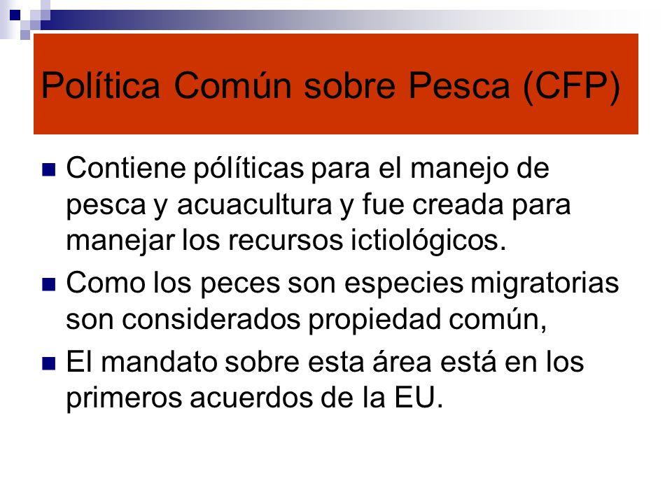 Política Común sobre Pesca (CFP)