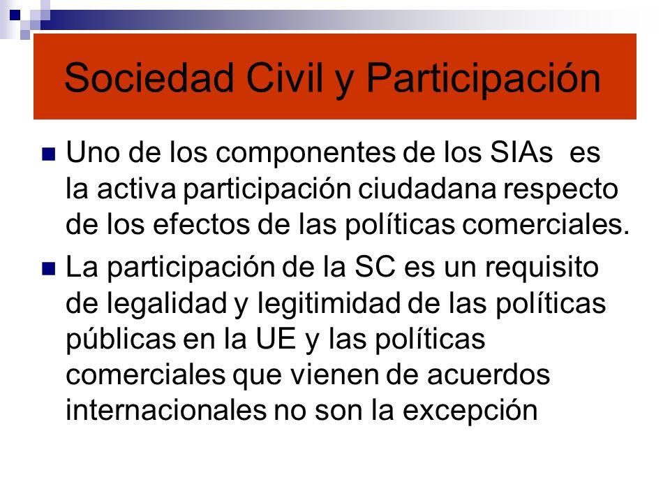 Sociedad Civil y Participación