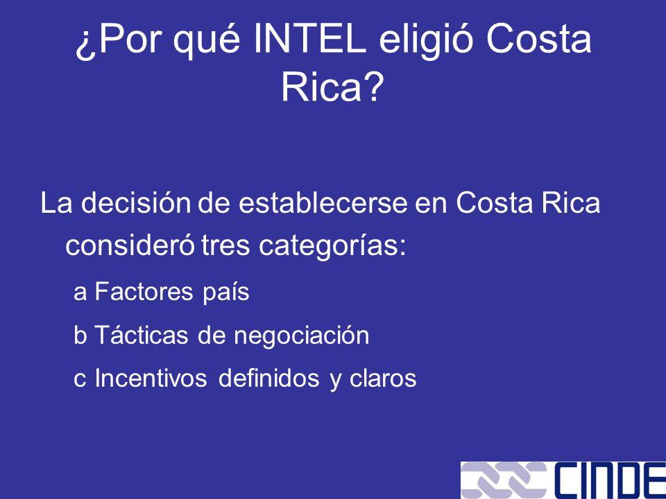 ¿Por qué INTEL eligió Costa Rica