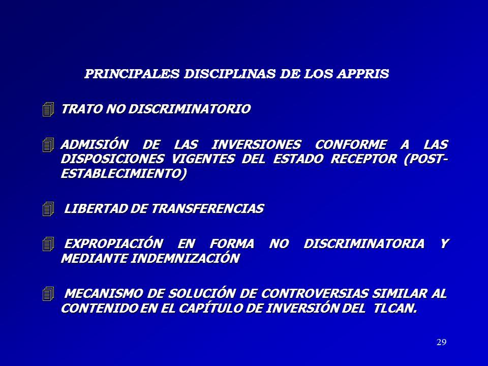 PRINCIPALES DISCIPLINAS DE LOS APPRIS