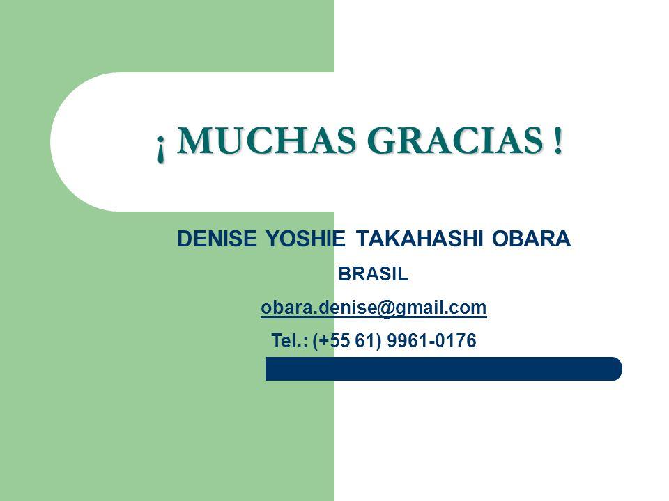 DENISE YOSHIE TAKAHASHI OBARA