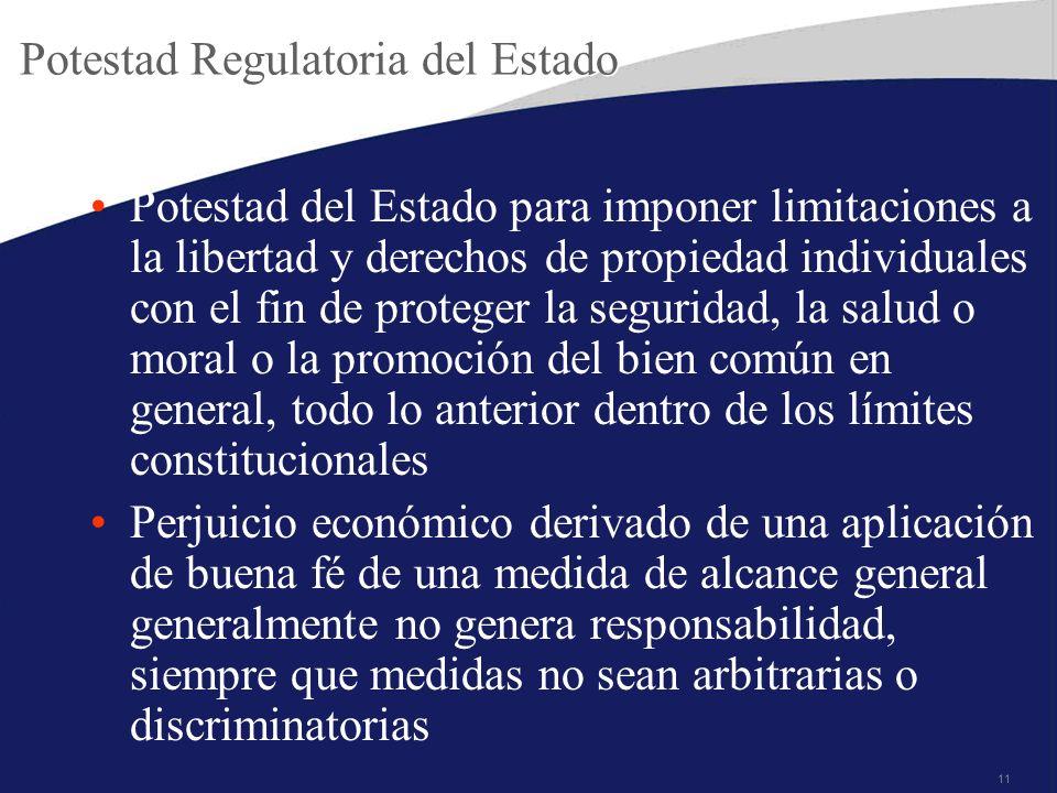 Potestad Regulatoria del Estado