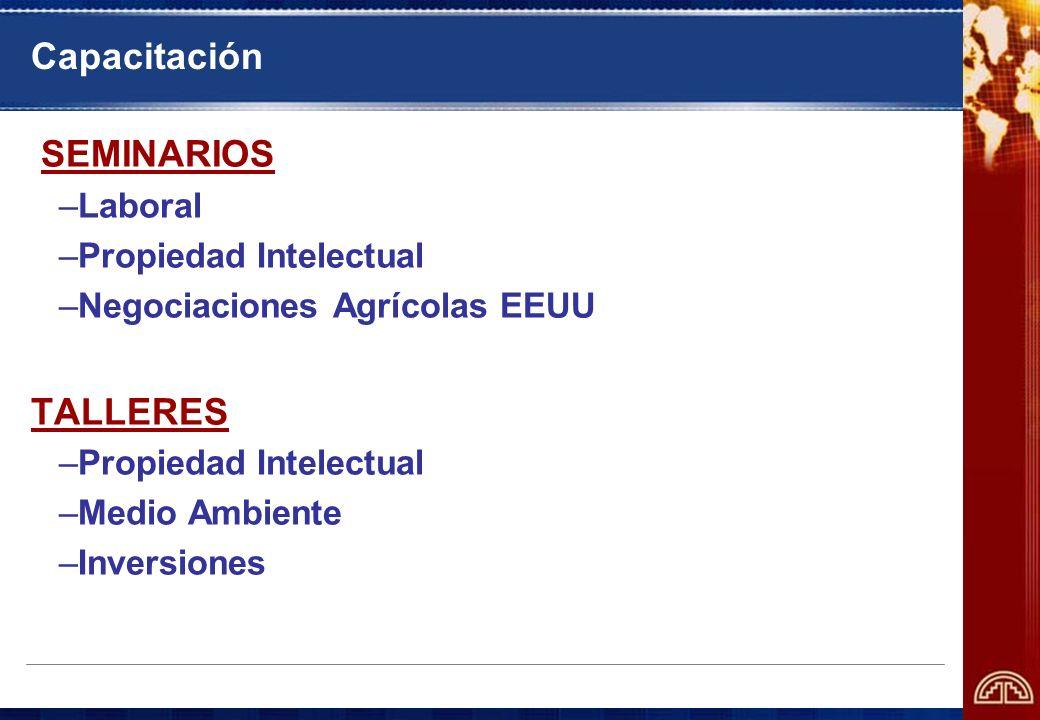 Capacitación SEMINARIOS TALLERES Laboral Propiedad Intelectual