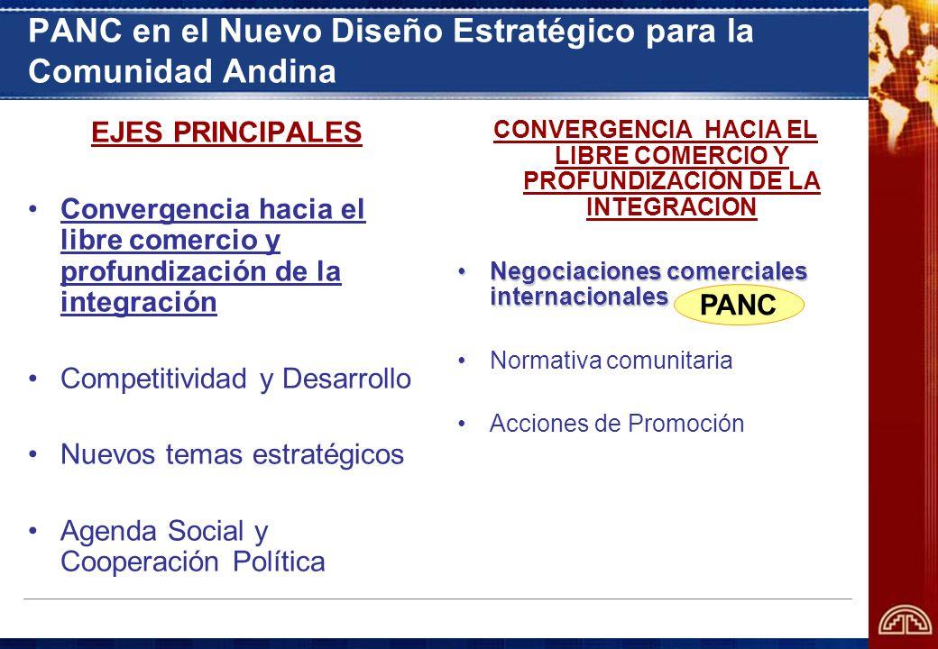 PANC en el Nuevo Diseño Estratégico para la Comunidad Andina