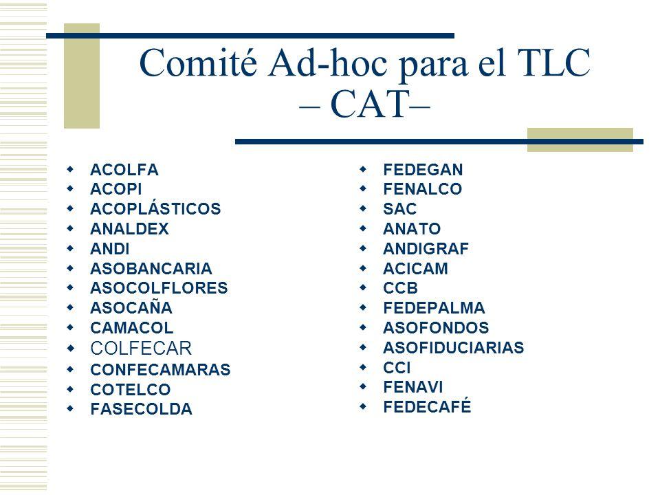Comité Ad-hoc para el TLC – CAT–