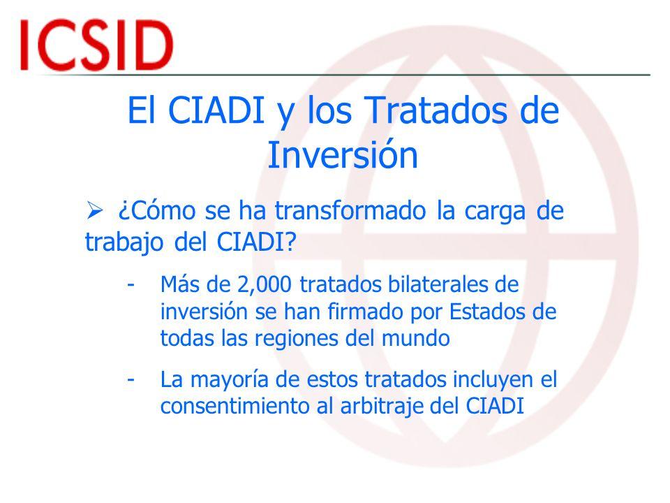 El CIADI y los Tratados de Inversión