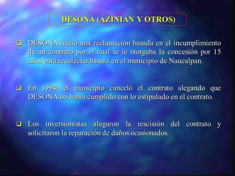 DESONA (AZINIAN Y OTROS)