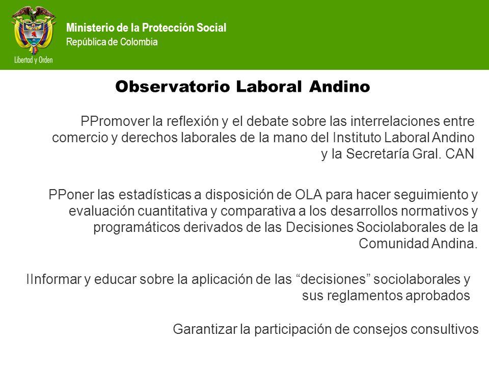 Observatorio Laboral Andino