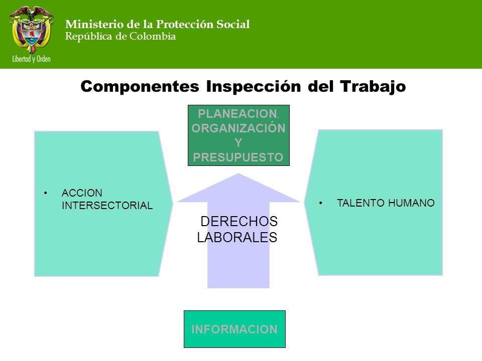 Componentes Inspección del Trabajo