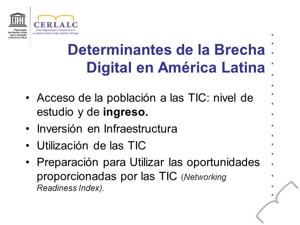 Determinantes de la Brecha Digital en América Latina