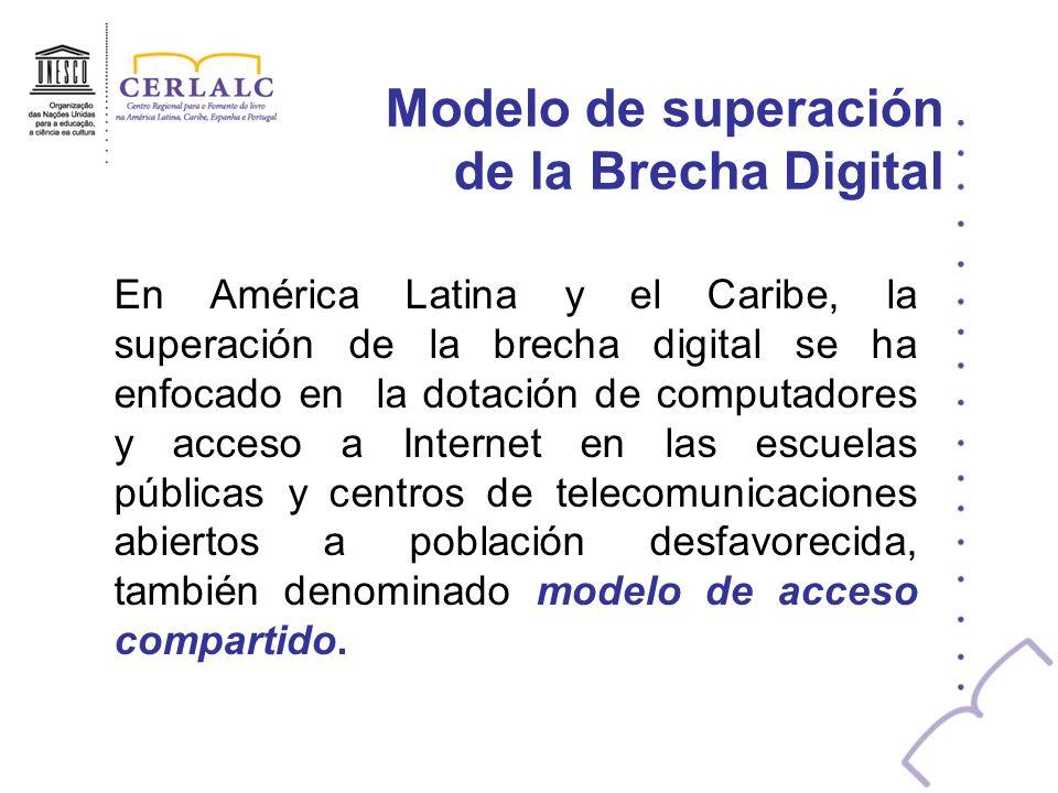 Modelo de superación de la Brecha Digital
