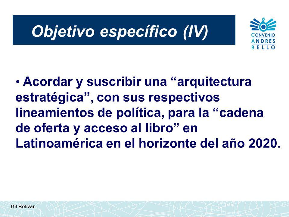 Objetivo específico (IV)