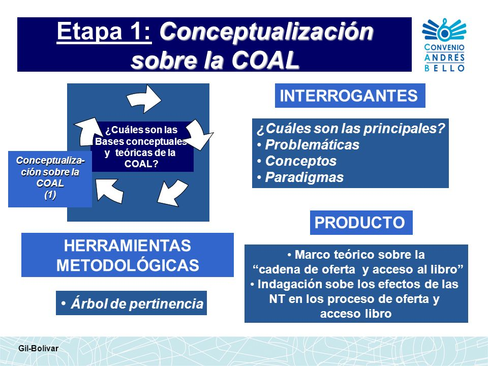 Etapa 1: Conceptualización sobre la COAL