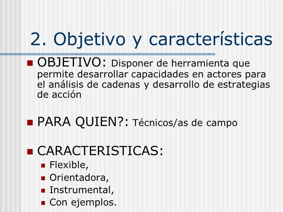 2. Objetivo y características