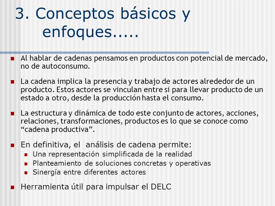 3. Conceptos básicos y enfoques.....