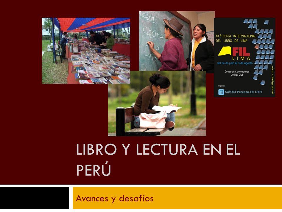Libro y Lectura en el Perú